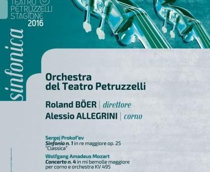 Bari – Concerto Sinfonico – Roland Böer dirige l'Orchestra del Teatro, solista Alessio Allegrini (corno).