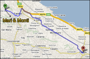 Mari e Monti Bed and breakfast - Ostuni