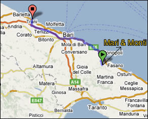 Mari e Monti Bed and breakfast - Trani